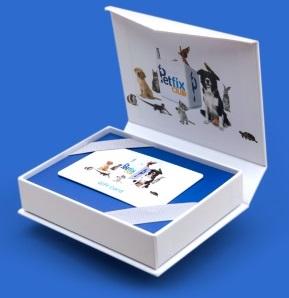 Petfix Club prepaid annual subscription gift card