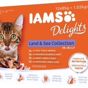 Iams Land and Sea Collection in Jelly 12x85g