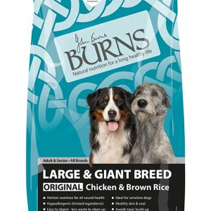Burns Original Large and Giant Breed Dog - Chicken