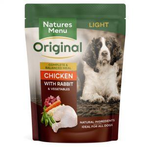 PouchNatures Menu Adult Chicken Light 8x300g