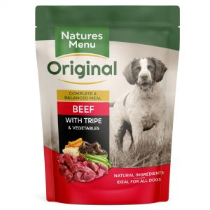 Natures menu Pouch Adult Beef with Tripe