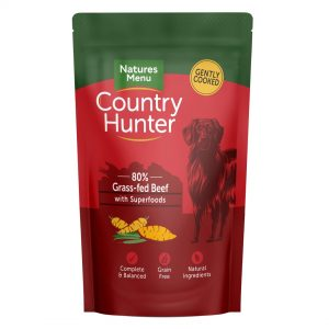 Natures Menu Country Hunter Pouches Beef