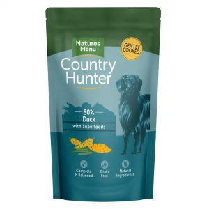 Natures Menu Country Hunter Pouches Duck