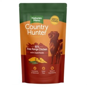 Natures Menu Country Hunter Pouches Chicken