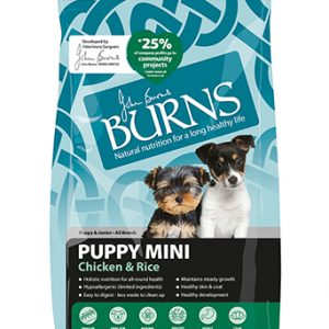 Burns Puppy Mini - Chicken and Brown Rice