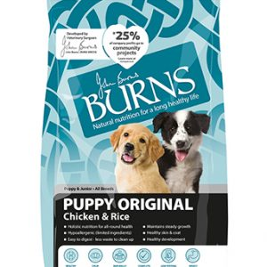 BURNS Puppy Original - Chicken and Brown Rice