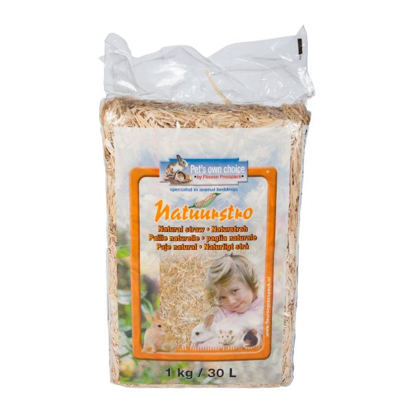 Pets Own Straw Small 1kg