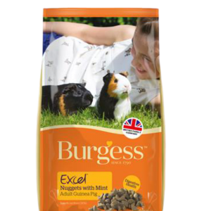 BURGESS Nuggets with Mint adult guinea pig
