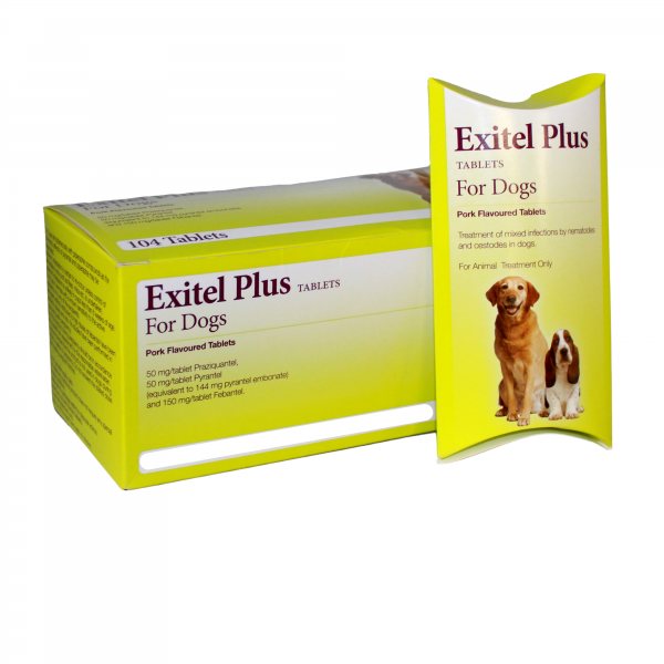 Exitel for dogs