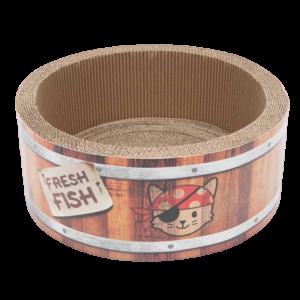 Catit Pirates Barrel Scratch