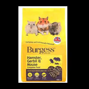 BURGESS Hamster, gerbil, mouse food