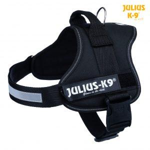 Julius - K9 Powerharness Black