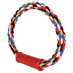 2 Knot Colour Rope Toy 40cm Super