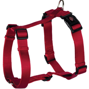 Premium H-Harness Red S-M 40-65cm X15Mm