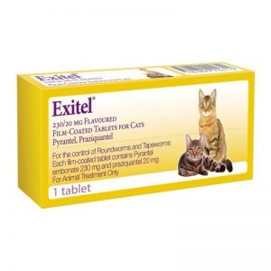 exitel worm treatment for cats