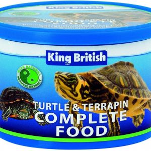 KING BRITISH turtle terrapin complete food
