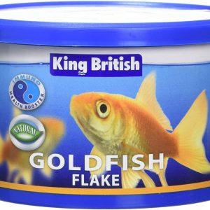 King British goldfish flake