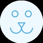 puppy face icon