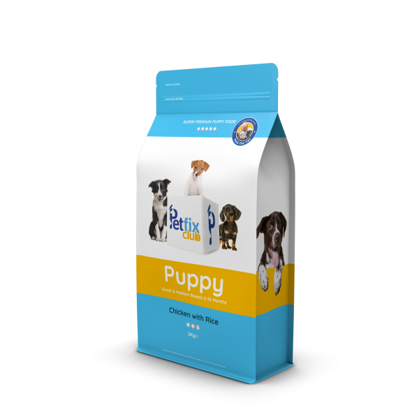Petfix Puppy Dog Food Chicken & Rice