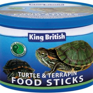 KING BRITISH food sticks turtle terrapin