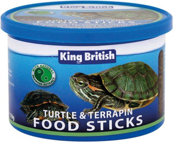 KING BRITISH food sticks turtle terrapin