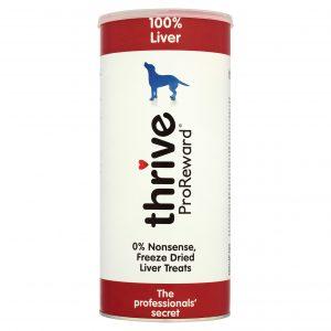 TRIVE 100% Liver Dog Treats – Maxi Tube 500g