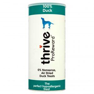 Thrive Duck Dog Treats – Maxi Tube 500g