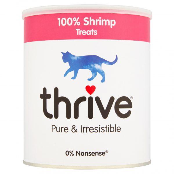 Thrive Shrimp Cat Treats - Maxi Tube 110g