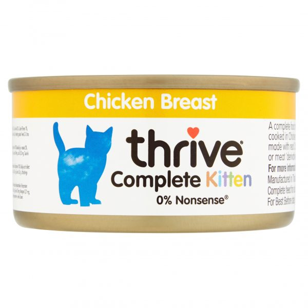 Thrive Chicken Breast, Kitten food