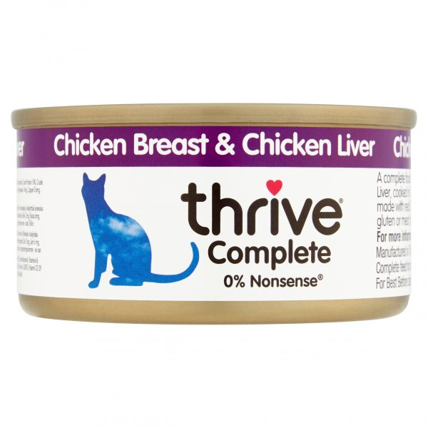 Theive Chicken Breast and Chicken Liver cat food