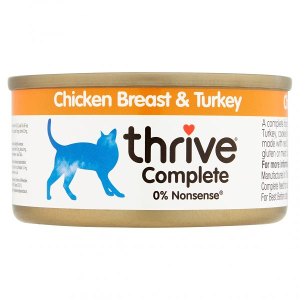 Thrive Chicken Breast and Turkey cat food