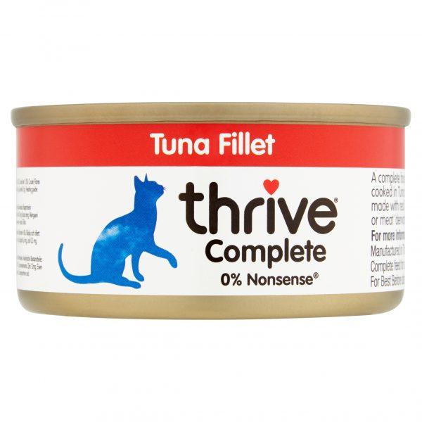 Thrive Tuna Fillet Cat food
