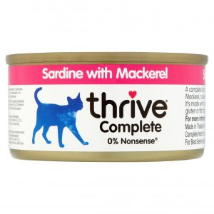 Thrive sardine with mackerel Cat food