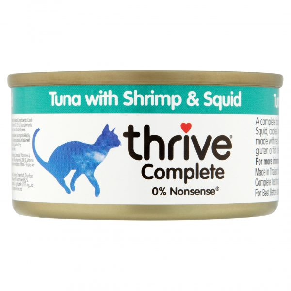 Thrive Complete Tuna with Shrimp and Squid 75g