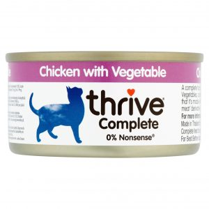 THRIVE Chicken with Vegetable cat food