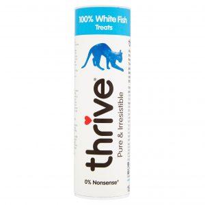 THRIVE 100% White Fish Cat Treats