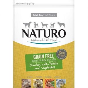 Naturo Grain Free Chicken with Potato and Vegetables adult god food
