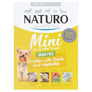 Naturo Mini Chicken with Potato and Vegetables Dog food