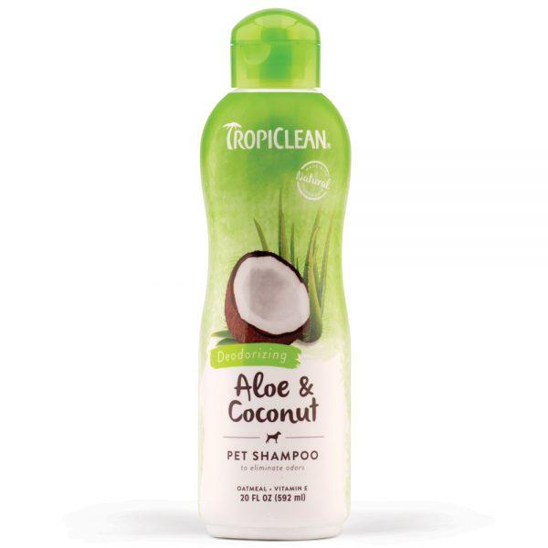 Tropiclean Aloe and Coconut Pet Shampoo