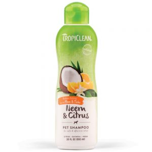 Tropiclean Neem and Citrus Dog Shampoo