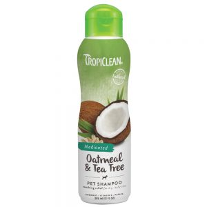 Tropiclean Oatmeal and Tra Tree Dog Shampoo