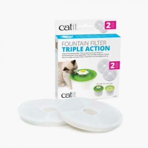 Catit Water Fountain Filter 2Pk