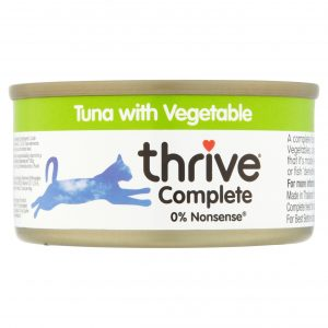 Thrive Tuna with Vegetable cat food