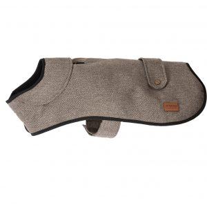 Ancol Heritage Brown Herringbone Dog Coat
