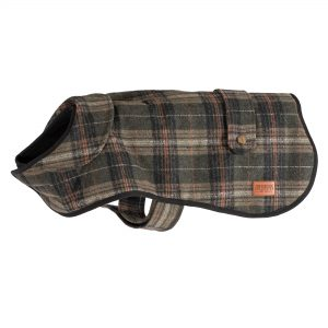 Ancol Heritage Green Check Coat