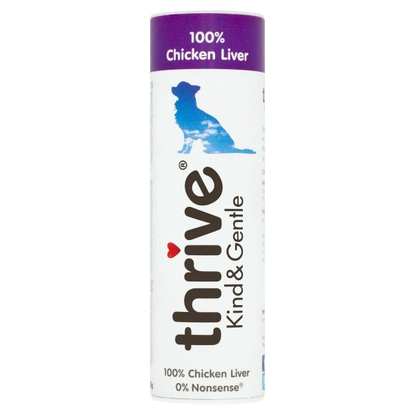 Thrive 100% Chicken Liver Dog Treats