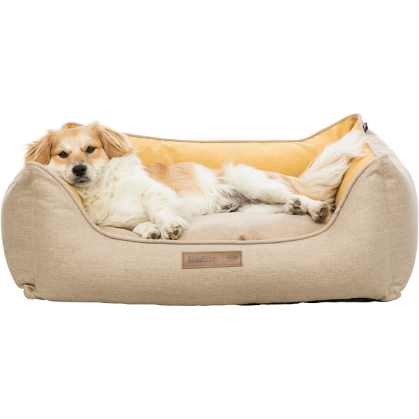 Trixie Lona Square Bed - Yellow