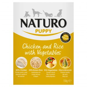 Naturo Chicken and Rice with Vegetables puppy food