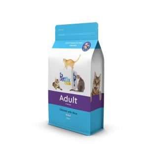 Petfix Club Adult Dry Cat Food - Chicken and rice