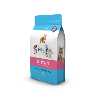 Petfix Kitten Food Chicken with Fish & Rice